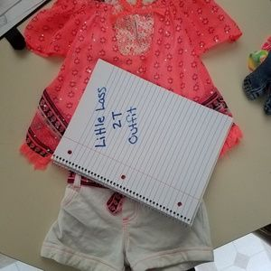 Girls 2T summer outfit